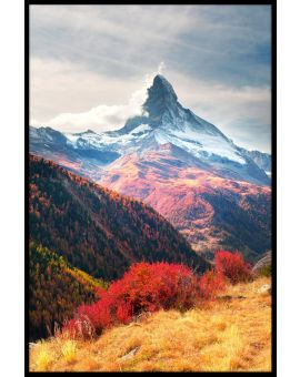 Matterhorn Alps Autumn Juliste