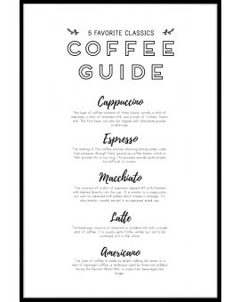 Coffee Guide Juliste