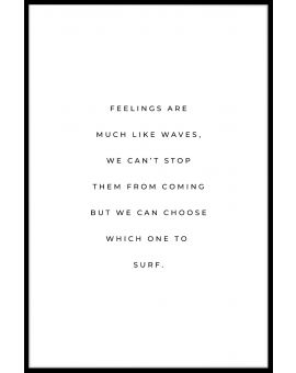 Feelings Quote Juliste