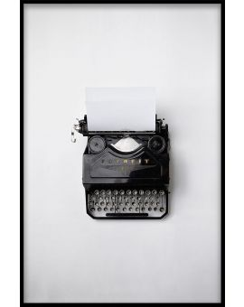 Typewriter Juliste