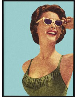 Retro Fashion Shades Juliste