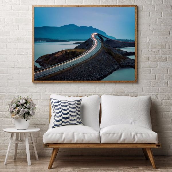 Atlantic Ocean Road Printti