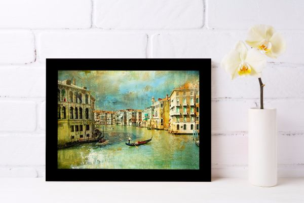 Old Venice Oil Painting Printti