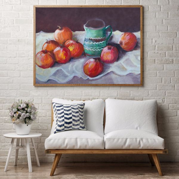Apples Oil Painting Printti