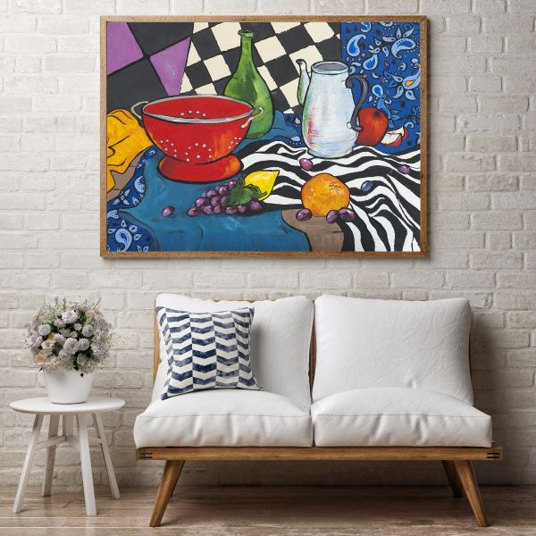 Fauvism Kitchen Oil Painting Printti