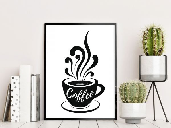 Coffee Illustration Printti