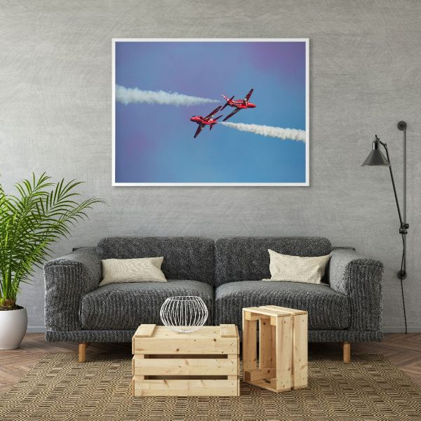 Red Arrows Airshow Printti