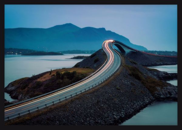 Atlantic Ocean Road Juliste