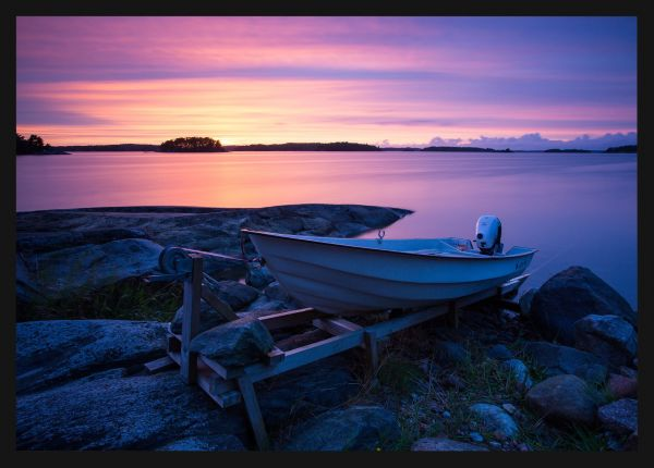 Archipelago Sunset Juliste