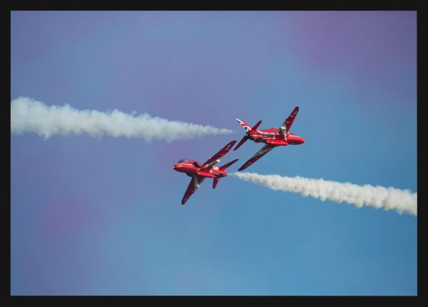 Red Arrows Airshow Juliste