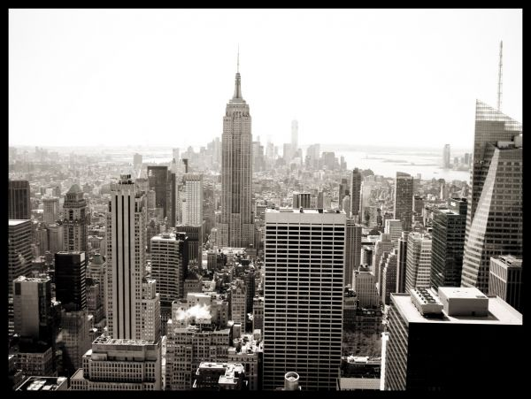NYC Empire State Building Juliste