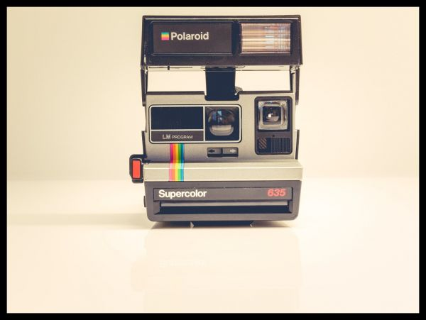 Vintage Polaroid Camera Juliste