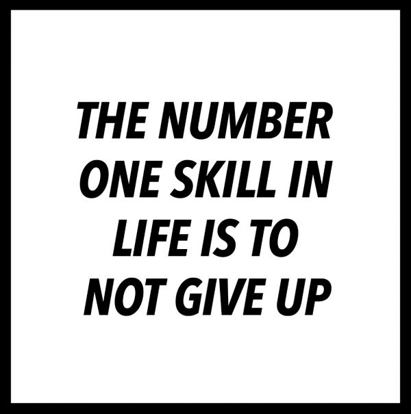 The Number One Skill In Life Juliste