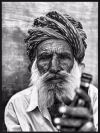 Indian Man Portrait Juliste