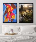 Abstract Modern Painting Printti